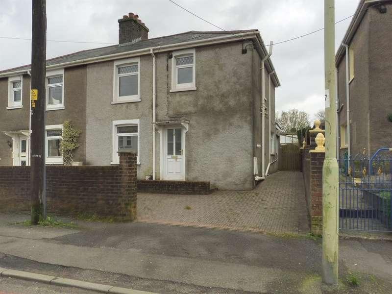 3 Bedrooms Semi Detached House for sale in Heol Ganol, Sarn, Bridgend