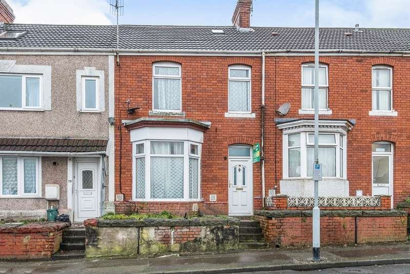 3 Bedrooms Terraced House for sale in Prince Of Wales Road, Swansea