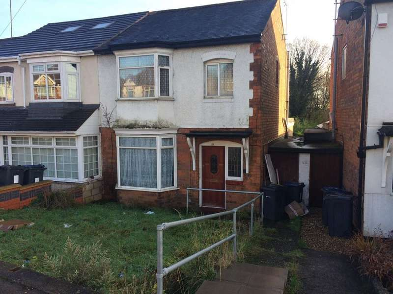 3 Bedrooms Semi Detached House for sale in Stechford Road, Hodge Hill, Birmingham B34
