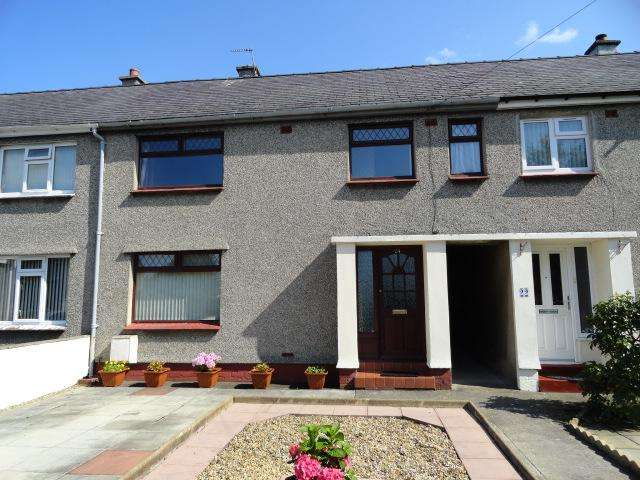 4 Bedrooms Terraced House for sale in PENYFFRIDD ROAD, BANGOR LL57
