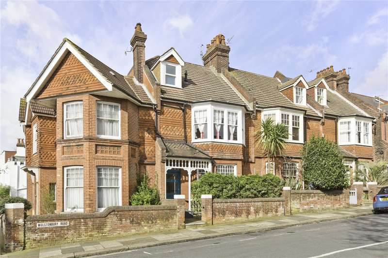 4 Bedrooms Terraced House for sale in Wolstonbury Road, Hove, East Sussex, BN3