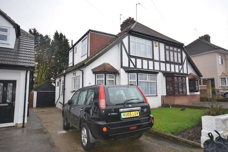 2 Bedrooms Semi Detached House for sale in Highfield Crescent, Upminster Bridge RM12