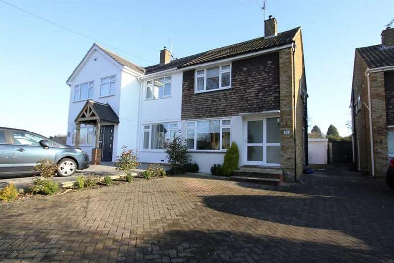 2 Bedrooms Semi Detached House for sale in Fairfield Rise, Billericay, Essex, CM12 9NL