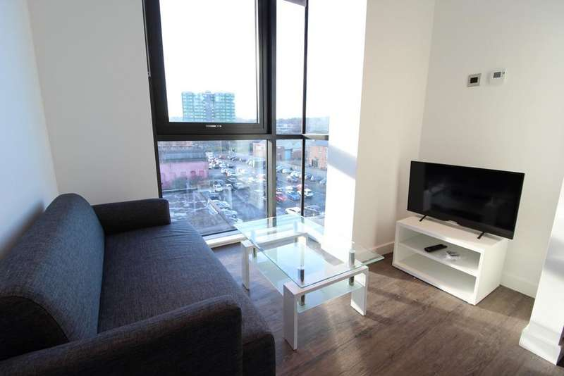 Studio Flat for rent in Bills Included, Printworks, Hodgeson Street, Sheffield S3