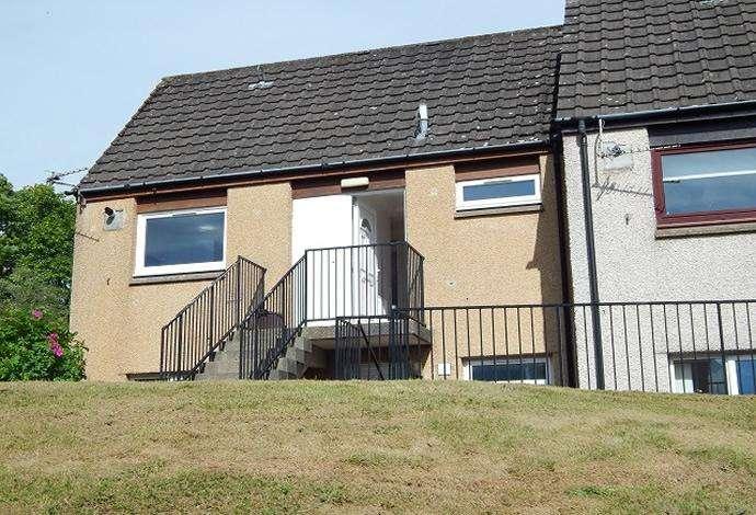 2 Bedrooms Flat for sale in 13 Gun Knowe Bank, Tweedbank, TD1 3SE