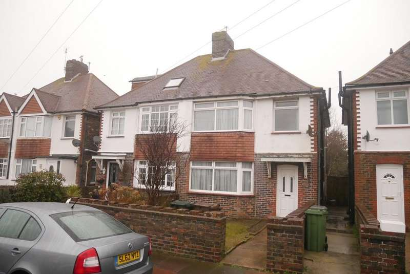 3 Bedrooms Semi Detached House for sale in Churchdale Road, Eastbourne, BN22