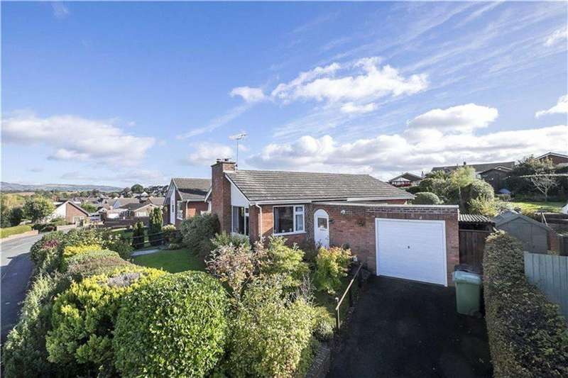 2 Bedrooms Detached Bungalow for sale in Bringewood Road, Ludlow, Shropshire