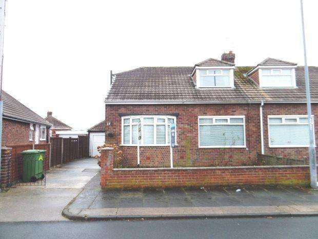 2 Bedrooms Semi Detached Bungalow for sale in WAVENDON CRESCENT, HIGH BARNES, SUNDERLAND SOUTH