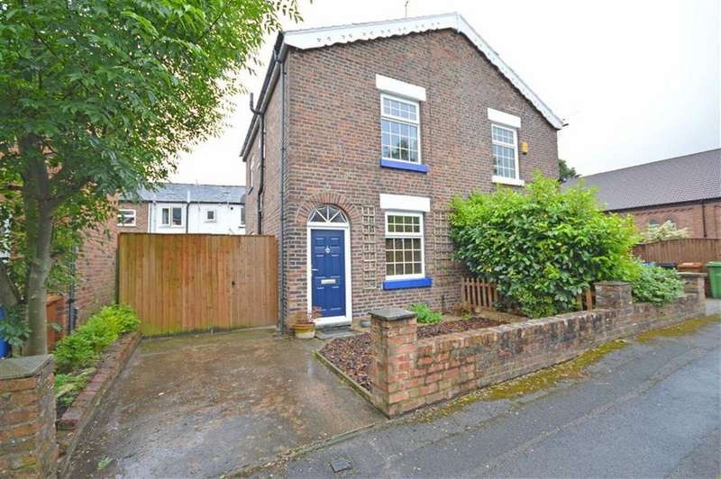 2 Bedrooms Semi Detached House for sale in Charles Street, Hazel Grove, Cheshire