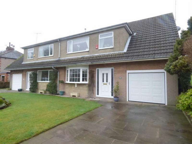 4 Bedrooms Semi Detached House for sale in Fernhill Drive, Bacup, Lancashire, OL13
