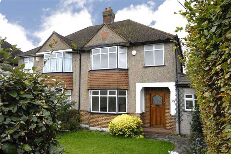 3 Bedrooms Semi Detached House for sale in Addington Road, West Wickham, Kent