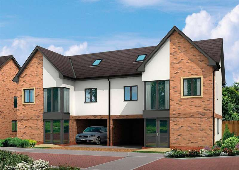 4 Bedrooms Semi Detached House for sale in Plot 16, The Fenton, Figham Gate, Beverley Parklands, Beverley, HU17 0RA