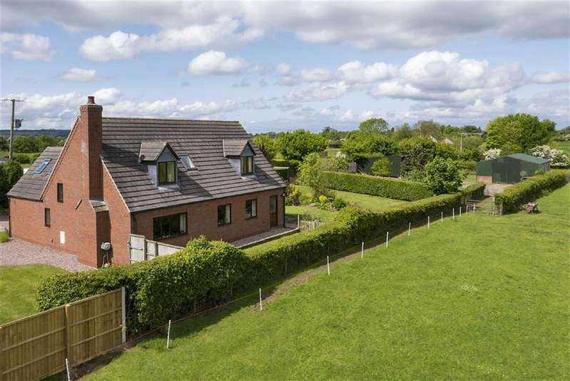 4 Bedrooms Detached House for sale in Mickley Lane, Market Drayton, TF9