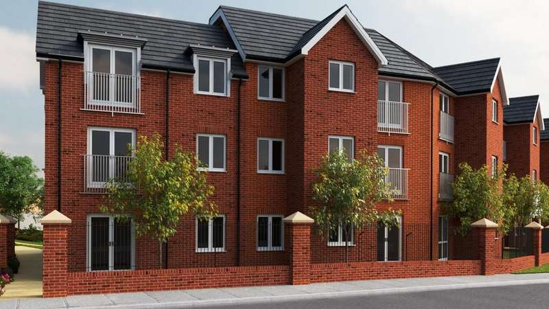2 Bedrooms Apartment Flat for sale in Rykeneld Court, Knutton Road, Wolstanton, Newcastle
