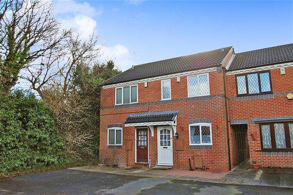 2 Bedrooms Terraced House for sale in Delamere Drive, Walsall