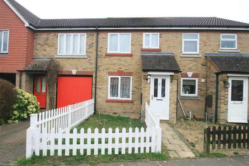 2 Bedrooms Terraced House for sale in Titus Way, Highwoods, Colchester