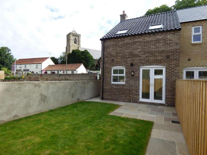 2 Bedrooms End Of Terrace House for sale in Front Street, Middleton On The Wolds, Driffield