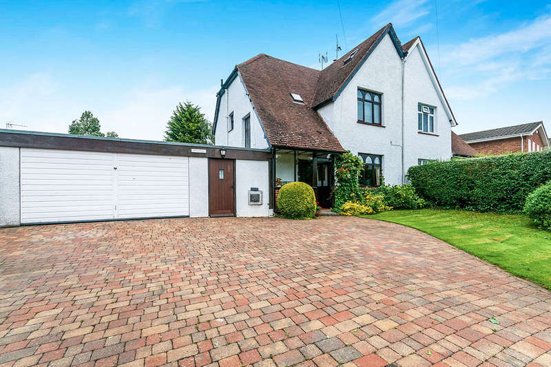 4 Bedrooms Semi Detached House for sale in Felsted Church Road, Hartley, Longfield, DA3