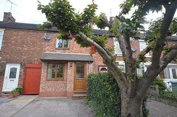 2 Bedrooms Terraced House for sale in Station View, Elworth, Sandbach, CW11 3JD