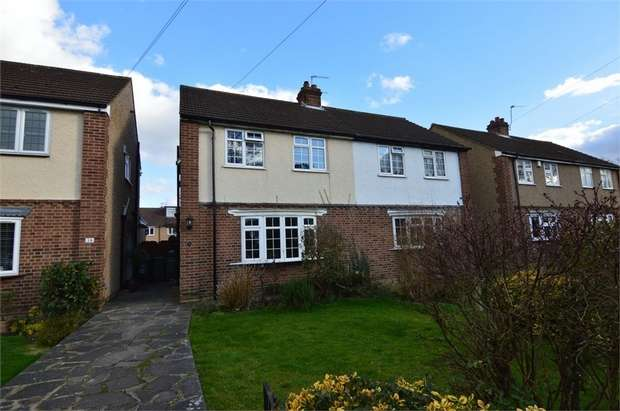 2 Bedrooms Semi Detached House for sale in Salisbury Crescent, Cheshunt, Hertfordshire