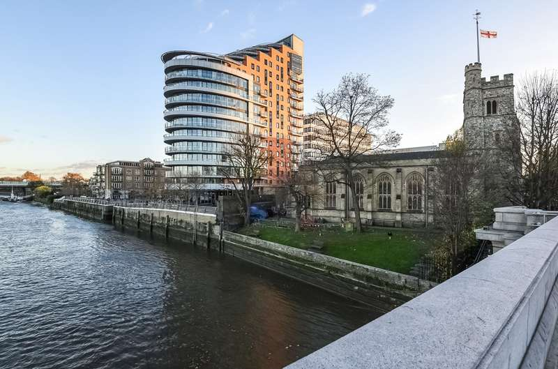 2 Bedrooms Flat for sale in Putney Wharf Tower, Brewhouse Lane, Putney, SW15