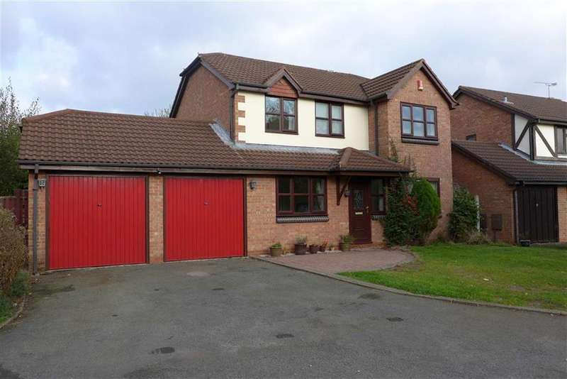 4 Bedrooms Detached House for sale in Wilderhope Close, Crewe