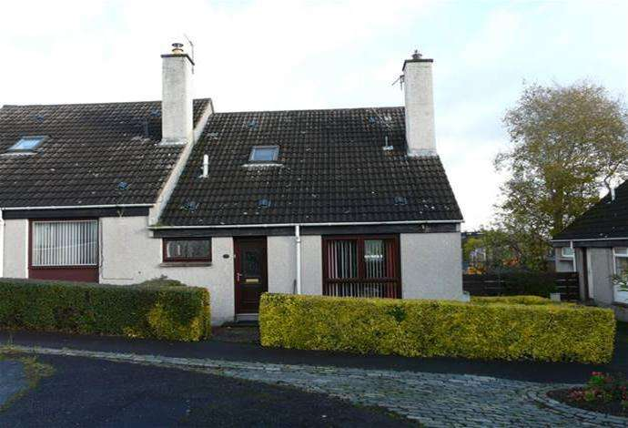 2 Bedrooms Terraced House for sale in 10 Whitefield Court, Newtown St Boswells, TD6 0PZ