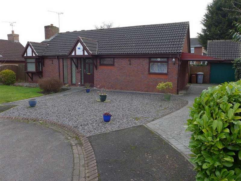 2 Bedrooms Detached Bungalow for sale in Chalfield Close, Crewe
