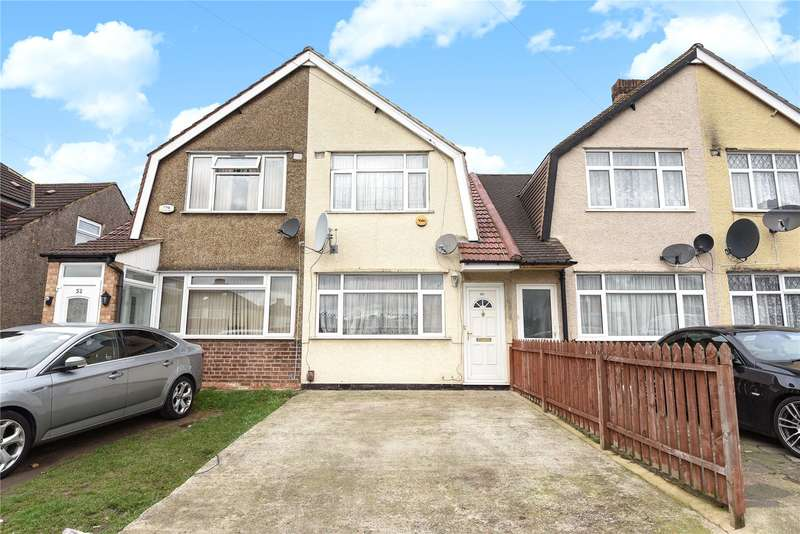 2 Bedrooms Terraced House for sale in Shepiston Lane, Hayes, Middlesex, UB3