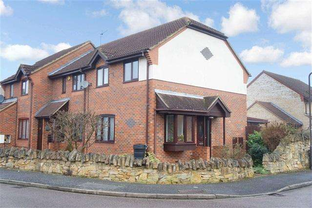 3 Bedrooms Terraced House for sale in Malcote Close, Biddenham