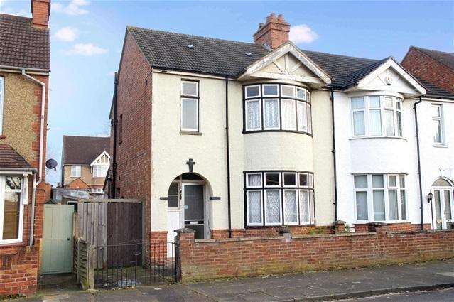 3 Bedrooms Semi Detached House for sale in Miller Road, Bedford
