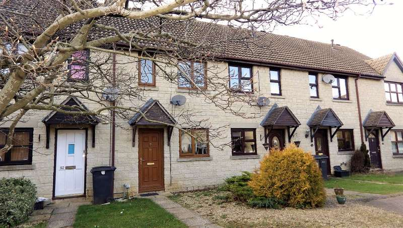 2 Bedrooms Terraced House for sale in Woodhouse Close