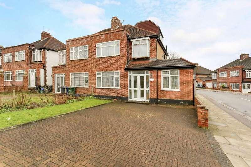 5 Bedrooms Semi Detached House for sale in Hale Lane, Edgware, HA8