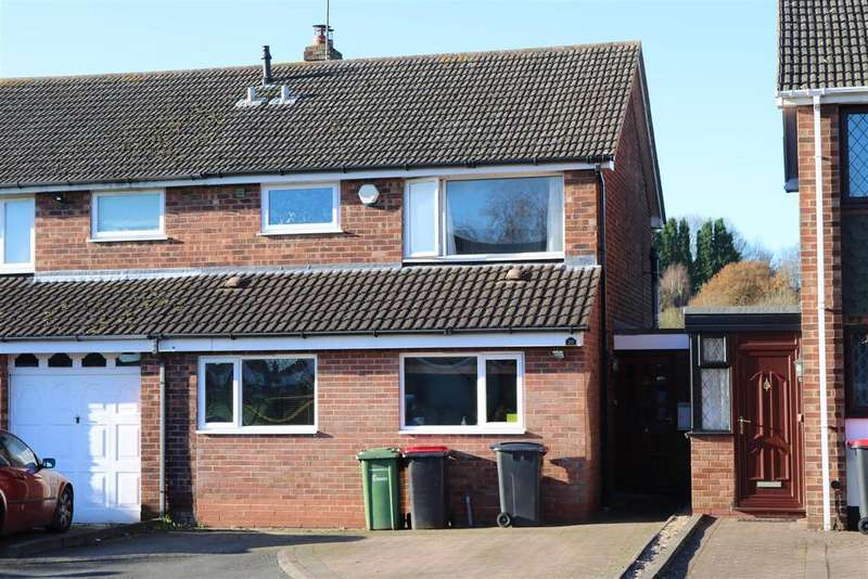 3 Bedrooms Semi Detached House for sale in Francis Close, Polesworth, Tamworth