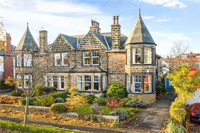 4 Bedrooms Semi Detached House for sale in Vernon Road, Harrogate, North Yorkshire