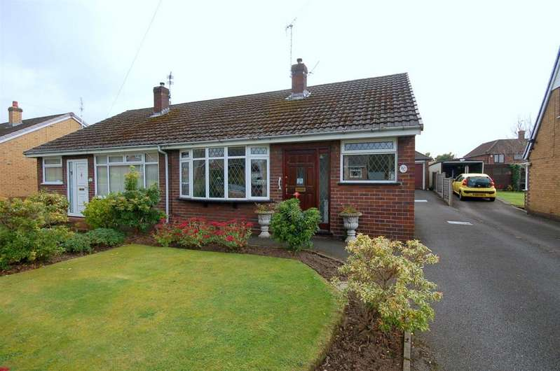 2 Bedrooms Semi Detached Bungalow for sale in Woodgate Avenue, Church Lawton