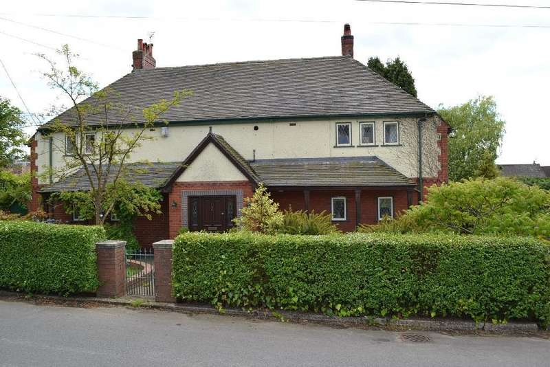 3 Bedrooms Semi Detached House for sale in The Bank, Scholar Green