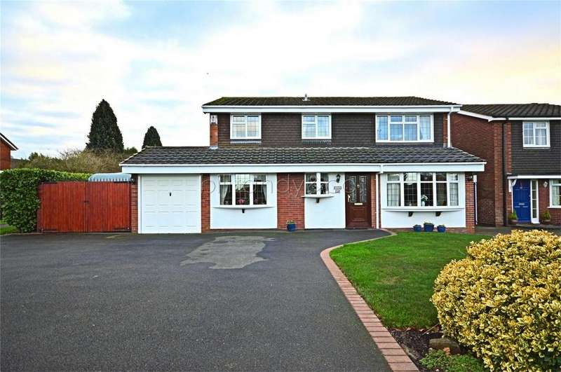 4 Bedrooms Link Detached House for sale in Church Road, Burntwood, Staffordshire