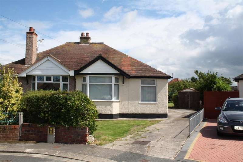2 Bedrooms Semi Detached Bungalow for sale in St Marys Drive, Rhyl