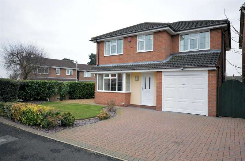 4 Bedrooms Detached House for sale in Jessop Way, Haslington, Crewe