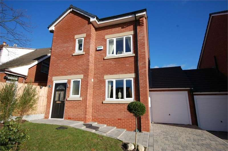4 Bedrooms Detached House for sale in Lowfield Lane, Lea Green, ST HELENS, Merseyside