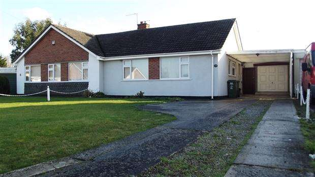 2 Bedrooms Bungalow for sale in Newlyn Crescent Puriton Bridgwater TA7