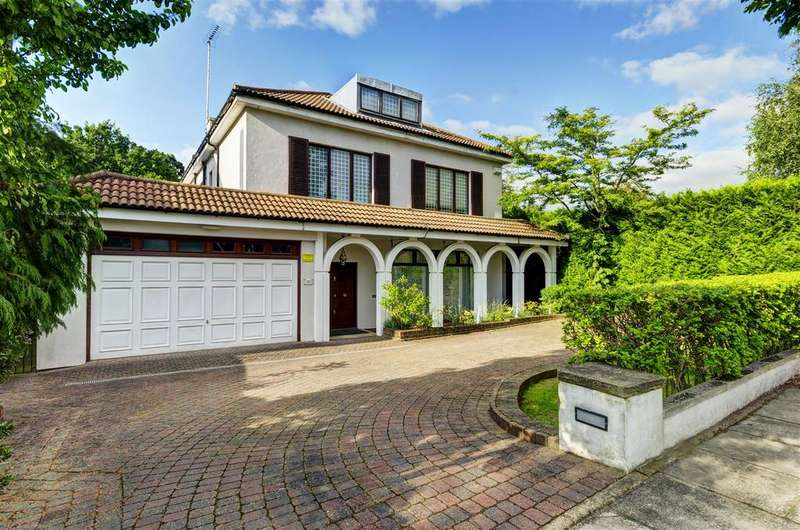 6 Bedrooms Detached House for sale in Neville Drive, N2