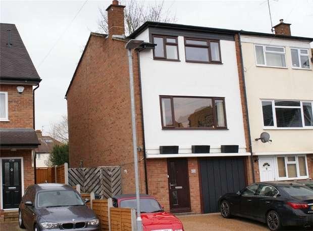 4 Bedrooms End Of Terrace House for sale in Ebberns Road, Apsley, Hemel Hempstead, Herts