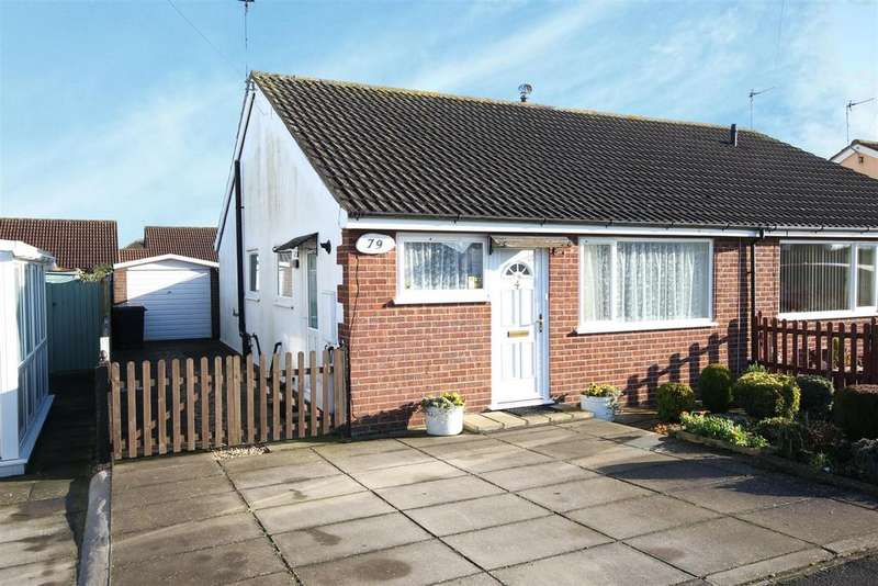 2 Bedrooms Semi Detached Bungalow for sale in 79 The Strand, Mablethorpe
