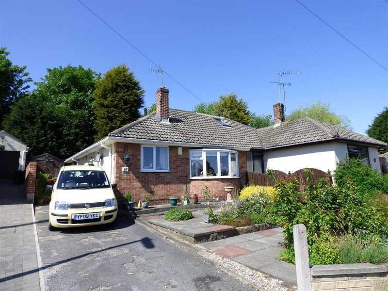 2 Bedrooms Semi Detached Bungalow for sale in Mount Gardens, Cleckheaton
