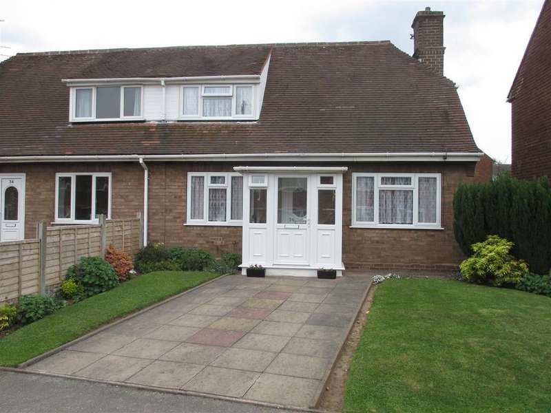 2 Bedrooms Semi Detached House for sale in Brookfield Road Aldridge, Walsall