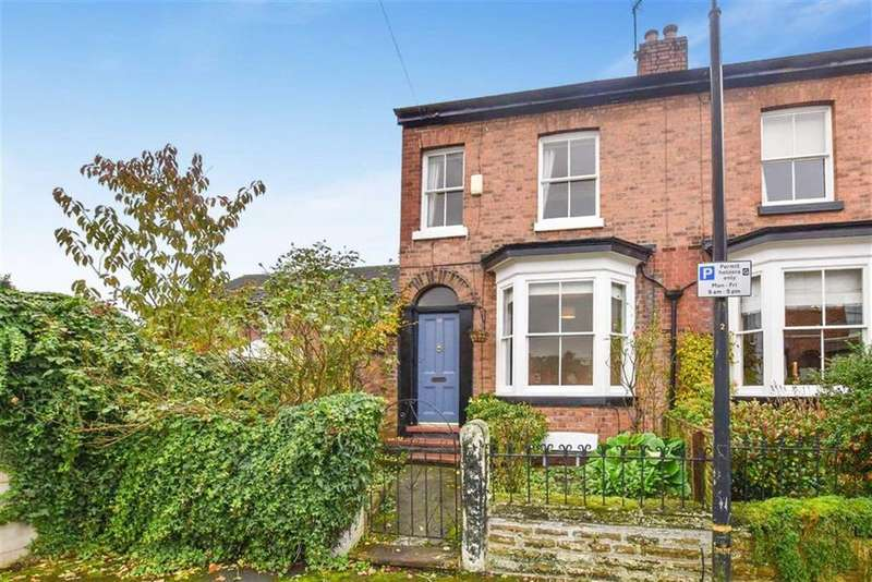 2 Bedrooms End Of Terrace House for sale in Renshaw Street, Altrincham, Cheshire, WA14