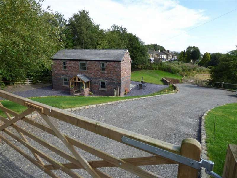 4 Bedrooms Detached House for sale in Carr House Lane, Hollingworth, Hyde, Cheshire, SK14
