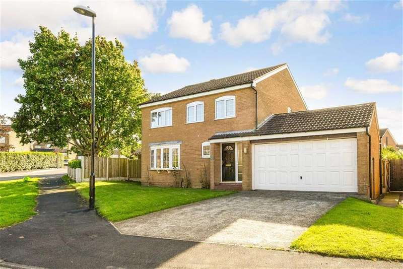3 Bedrooms Detached House for sale in Masefield Close, Harrogate, North Yorkshire